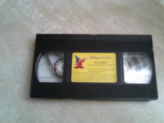 la cinta de video.