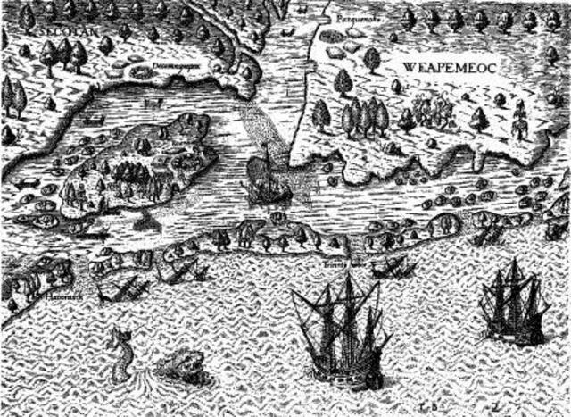 England Seeks Colonies