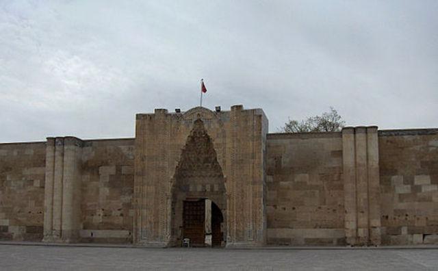 Sultan caravanserai near Aksaray, Turkey