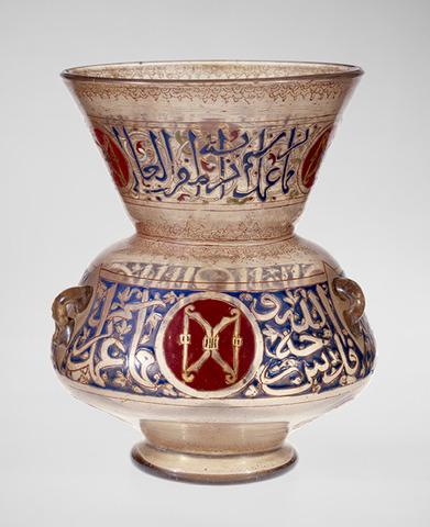 Mosque lamp, Mamluk