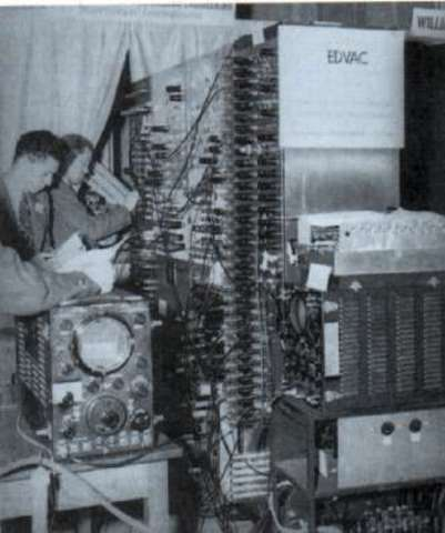 The EDVAC was designed