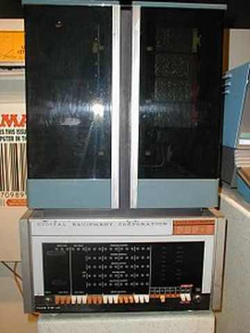 The PDP-8 was introduced