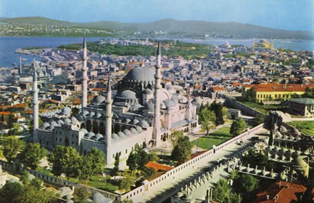 Suleymaniye complex; Istanbul, Turkey