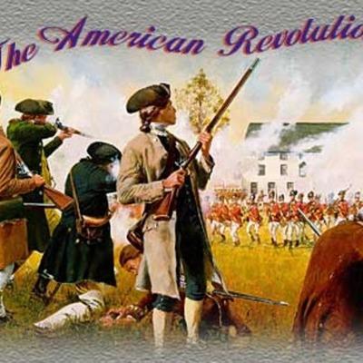 The American Revolution TImeline timeline
