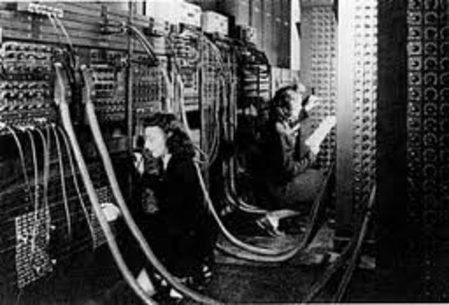 ENIAC was built