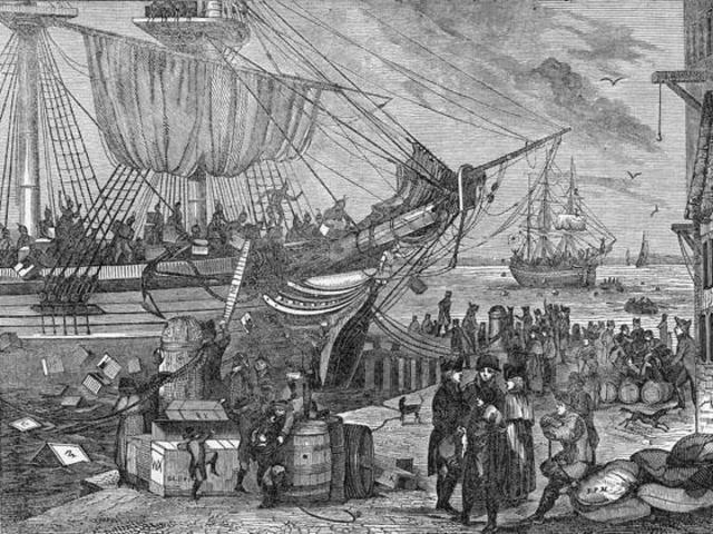 The Tea Act & The Boston Tea Party