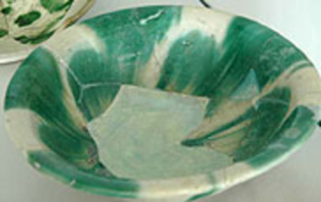 Abbasid's Splashware Bowl from Samarra