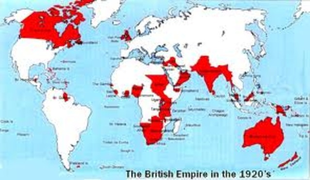 Britain and the British colonies