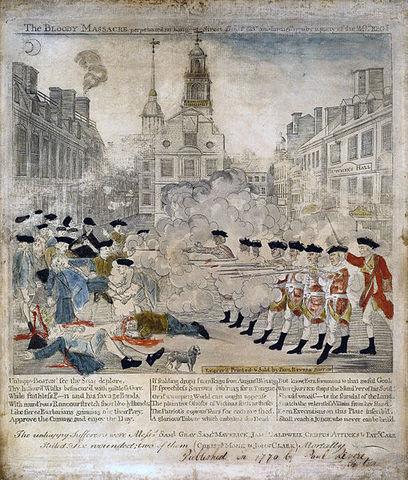 Boston Massacre March 5, 1770