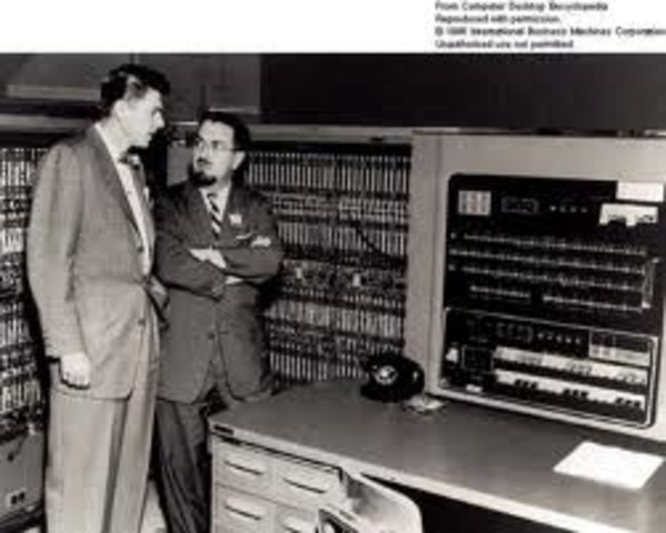 IBM's first electronic computer