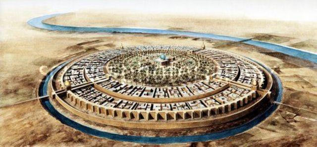 Abbasid Shift Capital to Baghdad