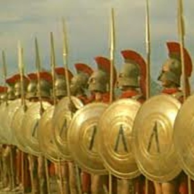 Spartans battle the Persians at Thermoplye timeline