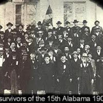 15th Alabama Brigade timeline
