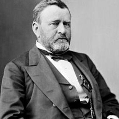 Ulysses S Grant. timeline