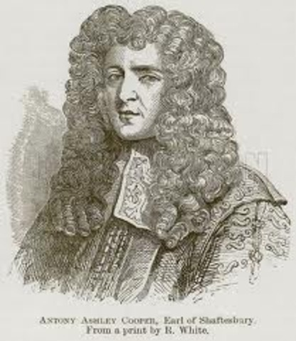 In 1679 his friend Earl was tried for treason.