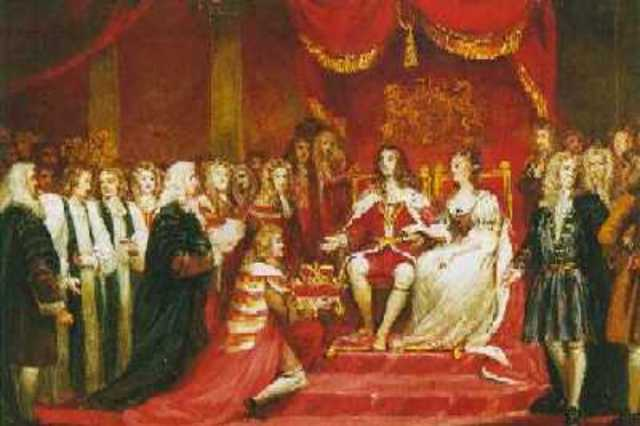Locke returns to England during the Glorious Revolution.