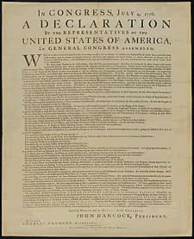 Thomas Jefferson borrows ideas from Locke.