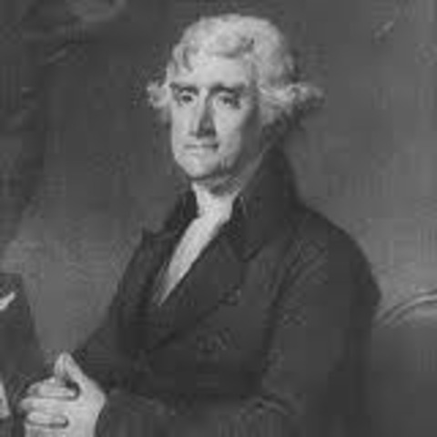 Jefferson borrows Locke's ideas
