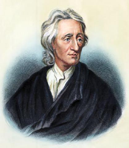 John Locke begins to write his idea of Social Contract