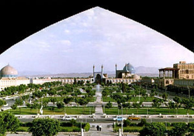 Maidan-e-Shah Square (Isfahan, Iran)
