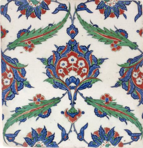 Ottomans' Iznik Tile