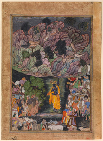 Mughals' Harivamsa (The Legend of Hari Krishna)