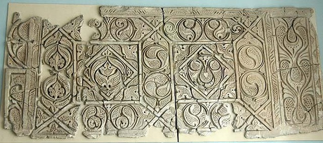 Abbasids' Stucco Wall Revetment