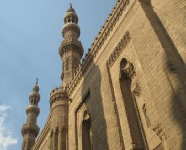 Collapse of Sultan Hassan Mosque's Minaret
