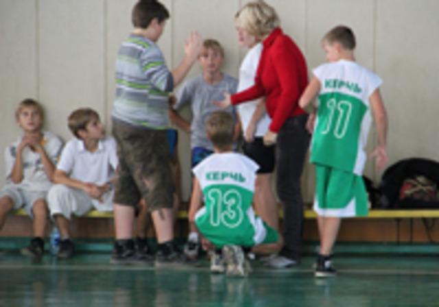 Первенство школ по волейболу