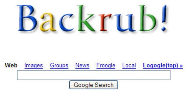 "They created a seach tool called ""Back Rub"""
