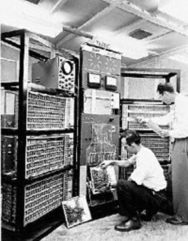 First Fully Transistorized Computer