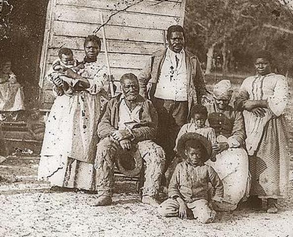 ex slaves where interviewd. 36-38