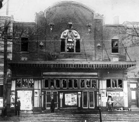 Laurier Palace Theatre fire