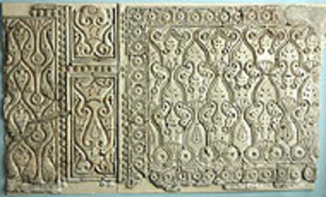 Samarra wall revetment - style C