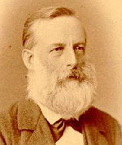 Julius Lothar von Meyer, orgainised by atomic mass- table
