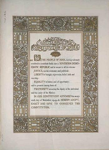 Fundemental Constitution