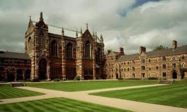 Locke became a professor at Oxford College