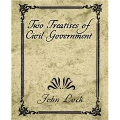 Two Treatises of Civil Government published