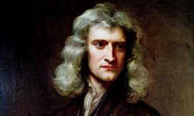 Sir Isaac Newton's new friendship.