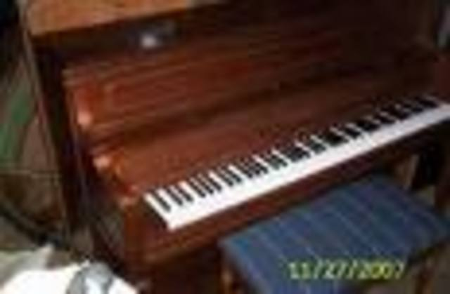The begining of my career (Piano)