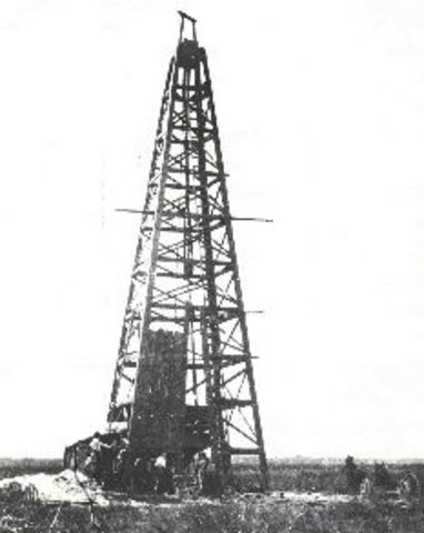 First Oil Well Drilled