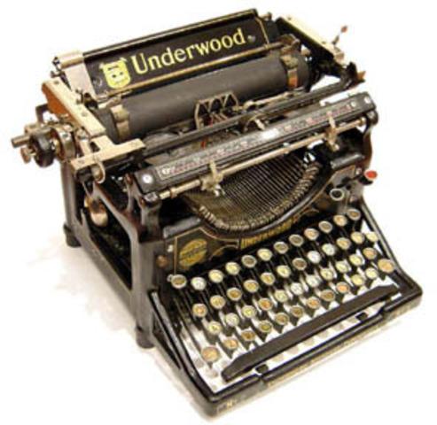 First Fully Functional Typewriter