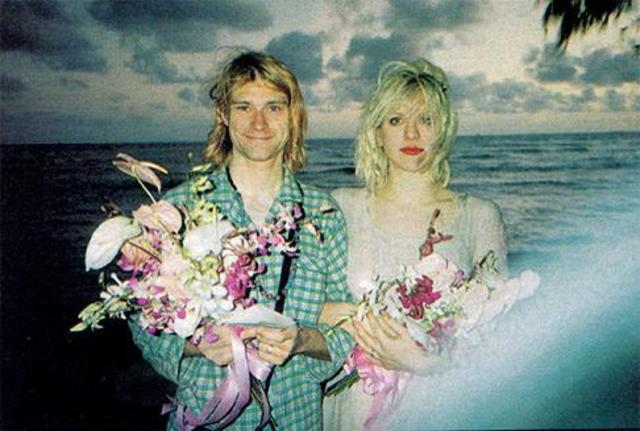 Love y Cobain se casan