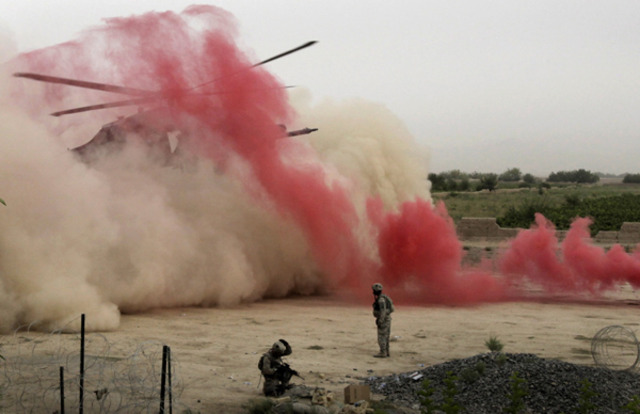 U.S.A. using smoke signals in 2010