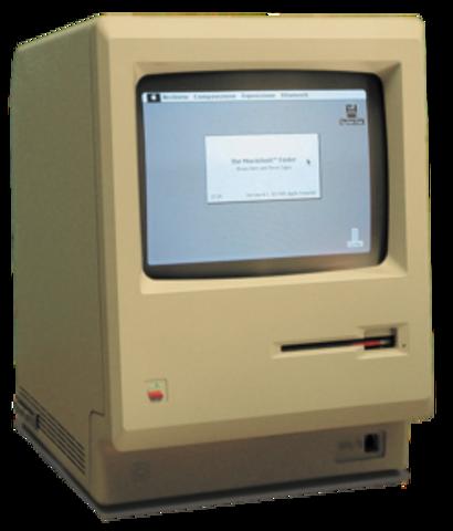 El 1º Macintosh (128K)