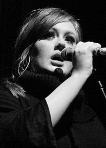Her debut album,19, was released in 2008
