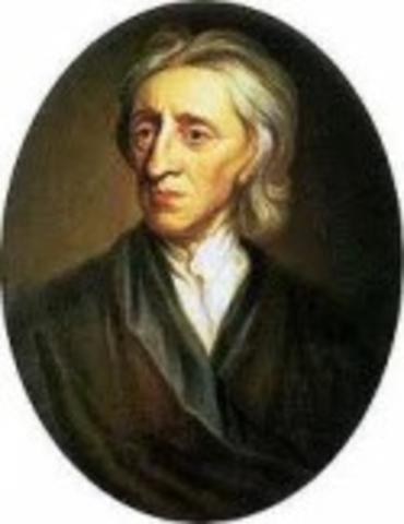 Birth John Locke in England