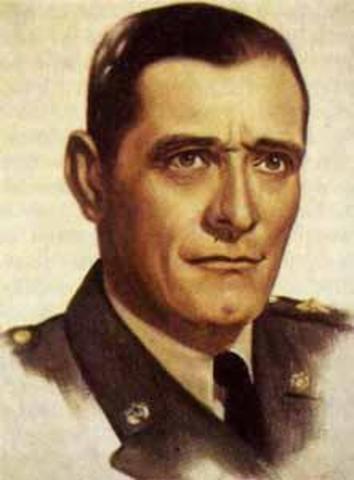 (1957-1958) Junta militar de gobierno: Navas Pardo, Rafael