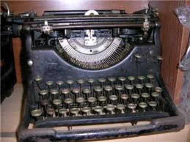 maquina de escribir con cinta magnetica