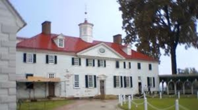 Washington Resigned from the Army and Returned to Mount Vernon